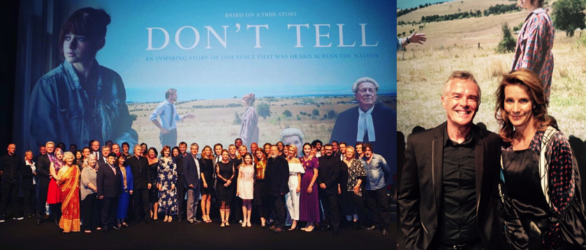'Don't Tell' Premiere