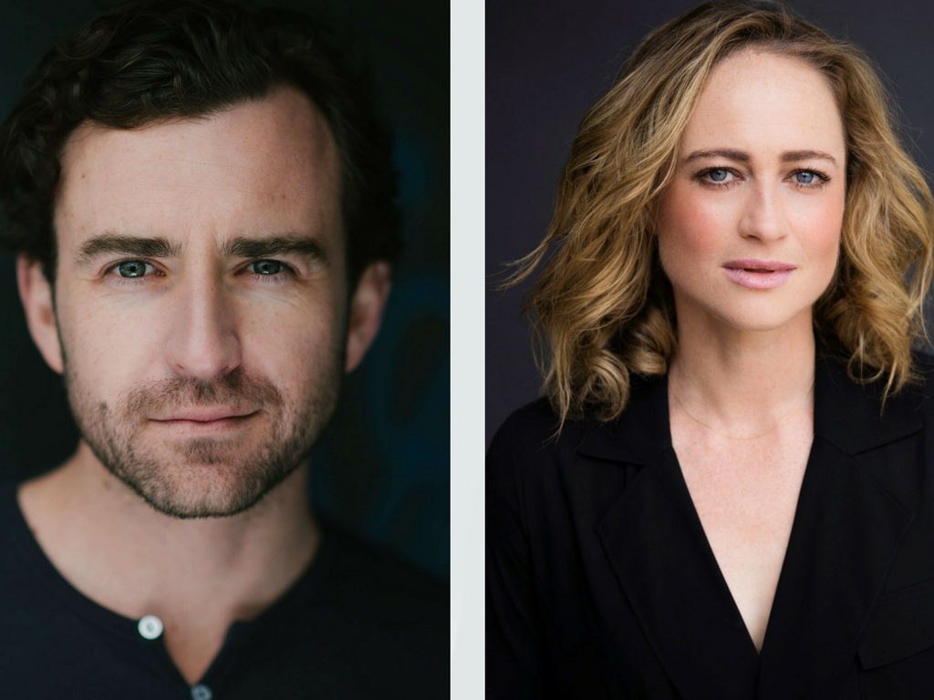 Johnny Carr and Lucy Goleby star in Bell Shakespeare
