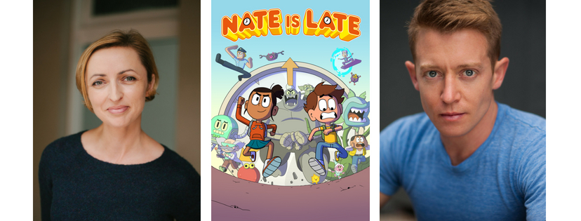 Nate is Late series is currently airing on 9GO!