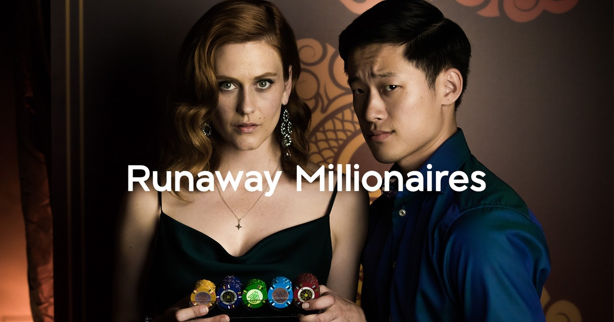 George Zhao stars in new film 'Runaway Millionaires'