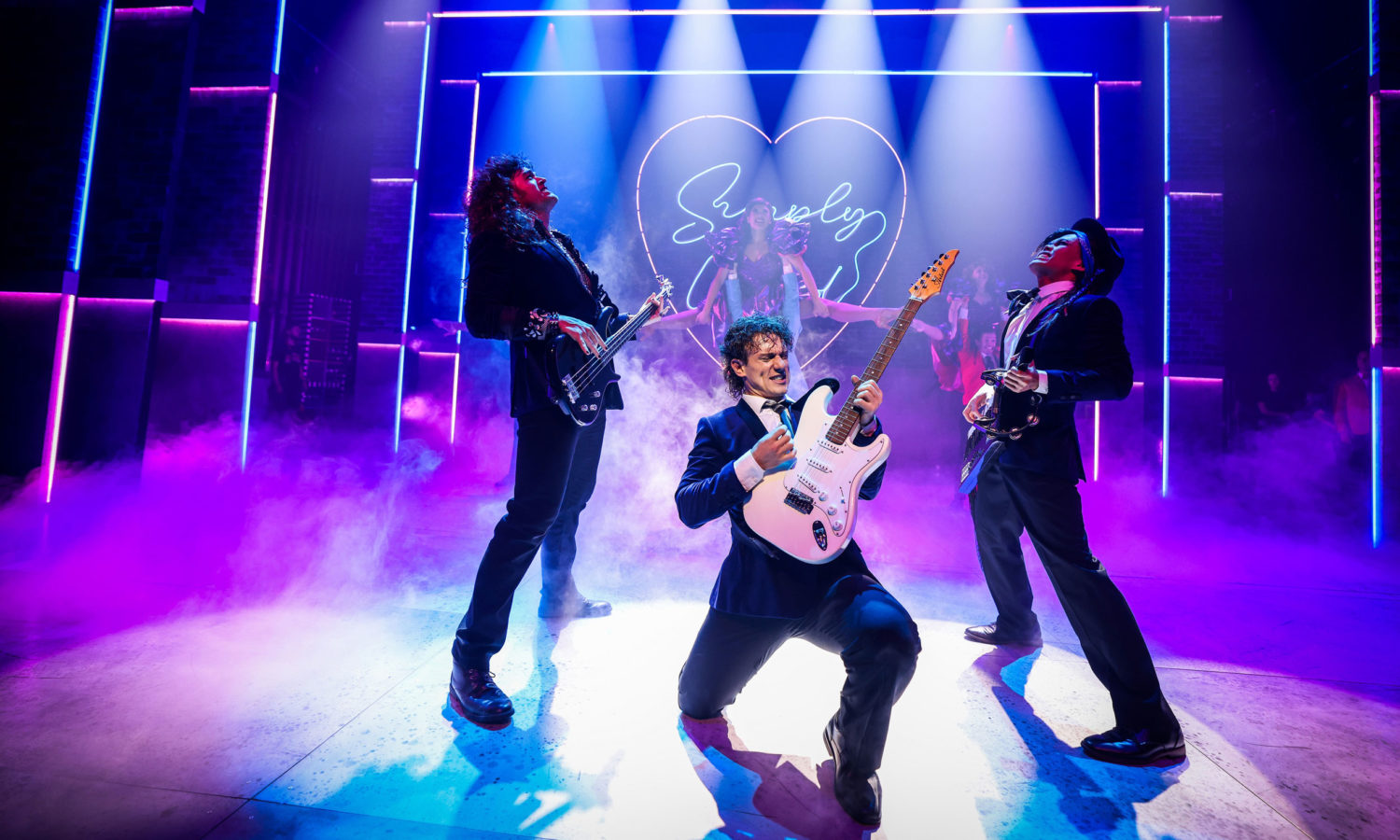 Christian Charisiou stars in national tour of 'The Wedding Singer'